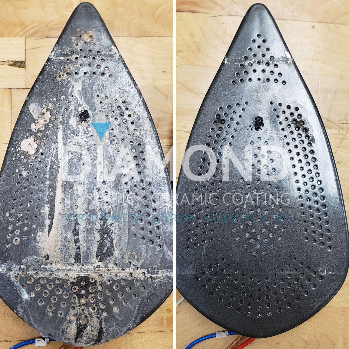 Volcanic Diamond Iron Sole Plate